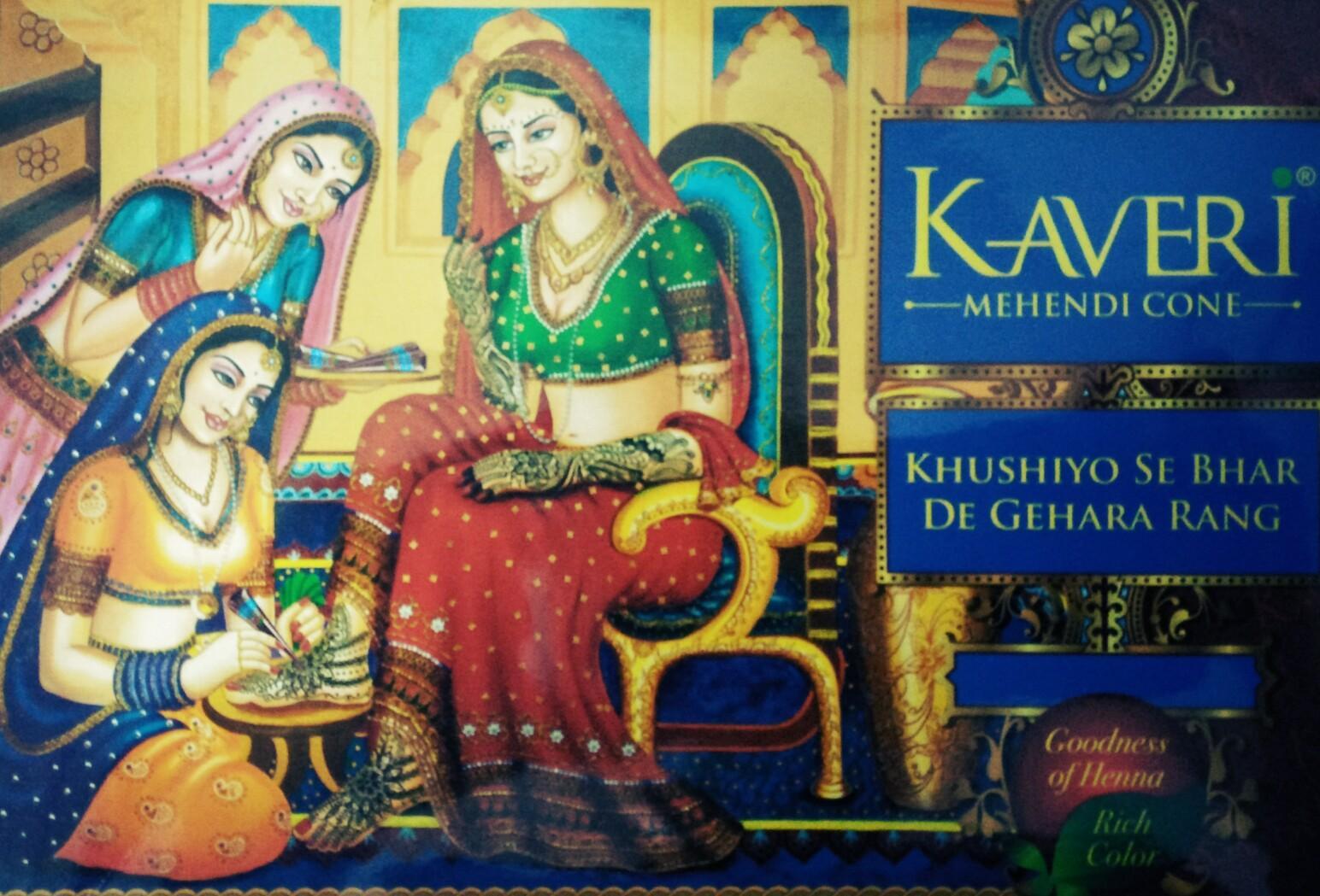 Mực vẽ henna Kaveri