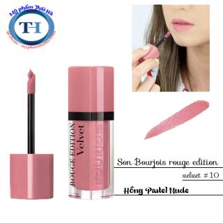 Son Bourjois Velvet 10 hồng pastel thumbnail
