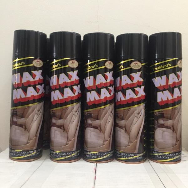 Bình Xịt Bóng Nội Thất Ô Tô Wax Max, Bình xịt Taplo-Ghế da...(500ml)