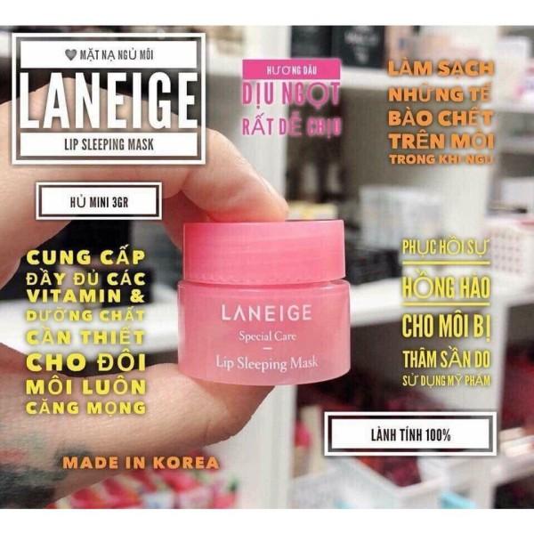 Mặt nạ ngủ môi Laneige Lip Sleeping Mask - mini 3gr giá rẻ