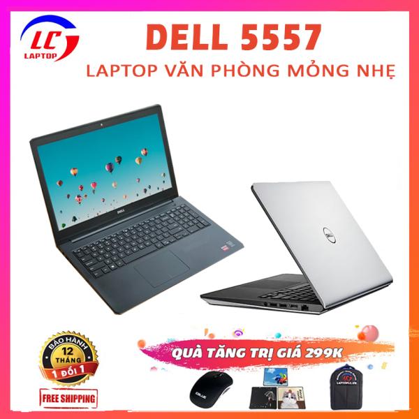 Bảng giá Máy Tính Văn Phòng Giá Rẻ, Laptop Đồ Họa Dell 5557, i5-6200U, VGA Rời Nvidia 930M- 2G, Màn 15.6HD, Laptop Dell, Laptop i5 Phong Vũ
