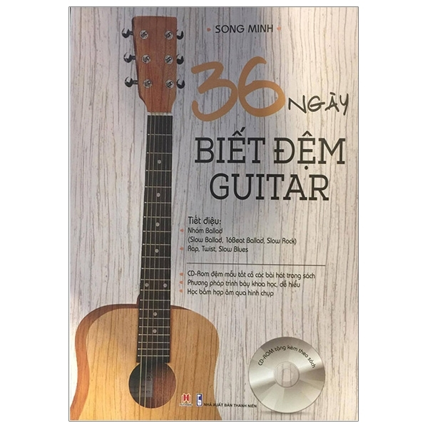 Mua Fahasa - 36 Ngày Biết Đệm Guitar - Kèm CD (Tái Bản 2016)