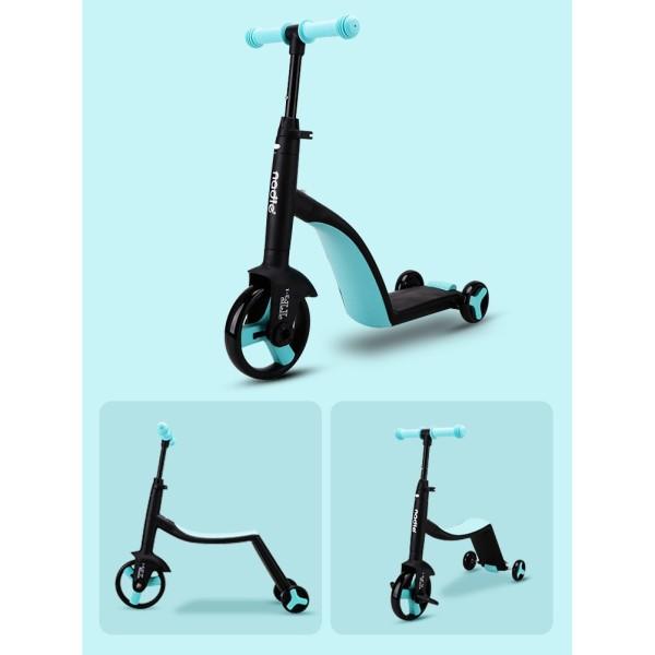 Phân phối Xe Trượt Scooter Nadle 3 trong 1 - Đa năng tiện lợi rễ sử dụng với 3 chức năng vừa xe đạp
