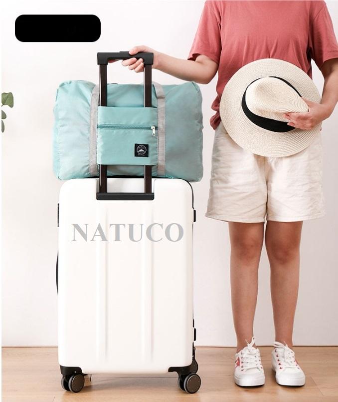 [HCM]Túi du lich đeo vai siêu nhẹ chống thấm nước túi dự phòng chất liệu vải oxford kích thước 48 x 32 x 16cm