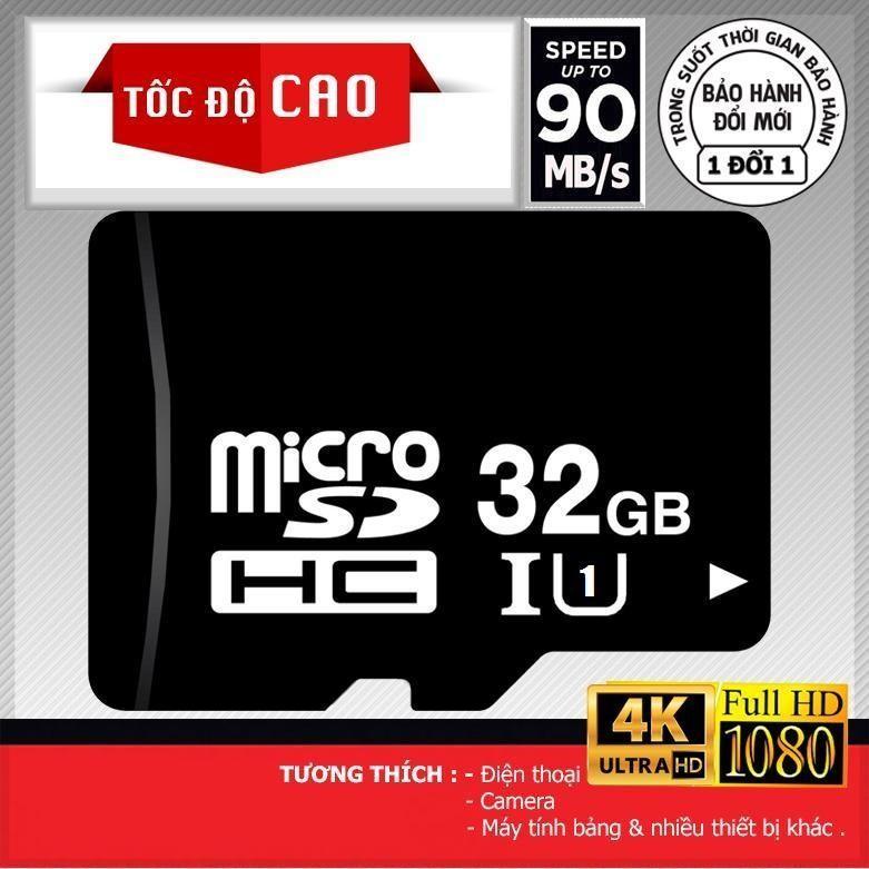 Thẻ nhớ Micro SD 16Gb tốc độ -100Mb/s