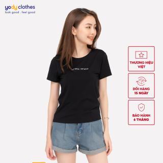 Áo phông nữ cổ tròn chất liệu 95% cotton PPN4134 thumbnail