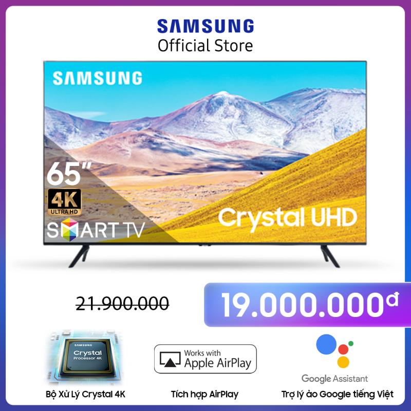 65TU8100 - Smart Tivi Samsung 4K 65 inch TU8100 2020 chính hãng