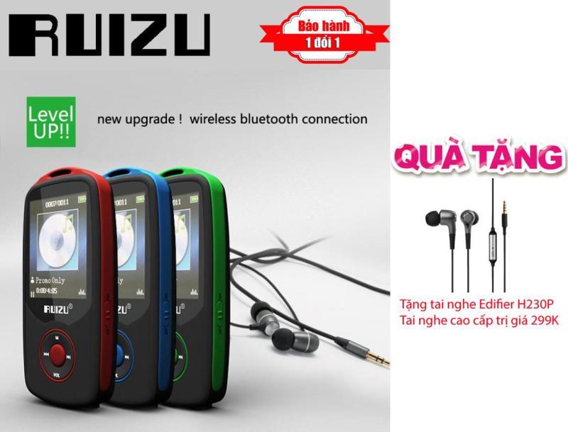 Máy nghe nhạc Lossless Bluetooth Ruizu X06 - Nhỏ gọn đến không ngờ + Tai nghe kiểm âm cao cấp Edifier H230P