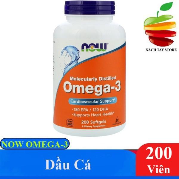 Viên Dầu Cá Now Omega 3 200 Viên