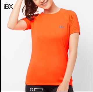 Áo thể thao nữ tay ngắn iBasic IBX045 tặng túi bảo vệ môi trường thumbnail