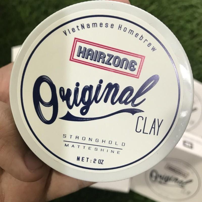 Hair Zone Original Clay - Sáp vuốt tóc của người Việt Nam 56gr giá rẻ