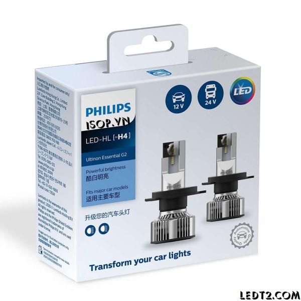 [Hỗ trợ lắp đặt tại cửa hàng - KV Hà Nội] Đèn pha LED Philips Ultinon Essential Gen 2 - Số lượng: 1 cái - Bảo hành 1 năm