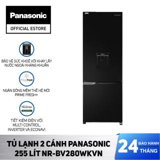 Tủ Lạnh 2 Cánh Panasonic 255 Lít NR-BV280WKVN - Bảo Hành 2 Năm - Hàng Chính Hãng