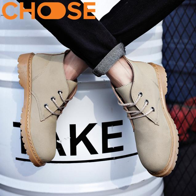 (HÀNG CÓ SẴN) Boots Nam/ Giày Oxford Nam Đẹp Phong Cách Thu Đông Tinh Tế 2603 giá rẻ