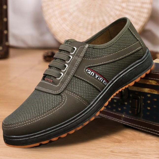 Giày lười nam màu xanh rêu đế chống trơn trượt siêu bền, siêu đẹp  AVISHOP SP - 285 | giày lười nam | giày lười | giày lười đẹp giá rẻ