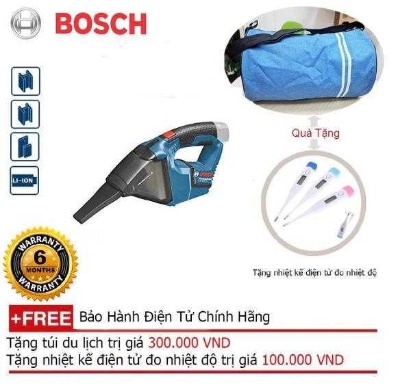 Máy hút bụi Bosch GAS 12 V (SoLo) chưa bao gồm pin sạc + Quà tặng áo mưa