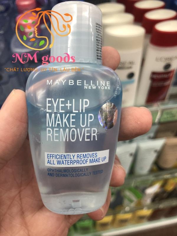 Nước Tẩy Trang Mắt Môi Maybelline -  Lip & Eyes Make Up Remover 40ml cao cấp