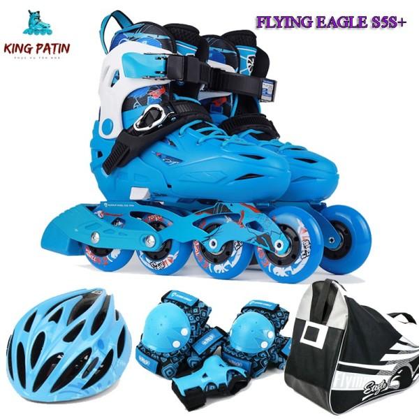 Phân phối Giày trượt patin Flying Eagle S5S+ Tặng kèm bảo vệ tay chân