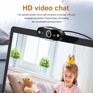 PangYa Webcam Máy Tính USB 1080P HD Camera Mạng Máy Tính Gia Đình Tích Hợp Micro Máy Quay Video Máy Tính, Để Trò Chuyện Video Webcam HD Dạy Học Phát Sóng Trực Tiếp thumbnail