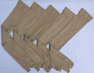 Combo 5 đôi vớ màu da xỏ ngón ,dài tới đùi ,thương hiệu T&T ,hàng Việt Nam chất lượng cao , ảnh thật thumbnail