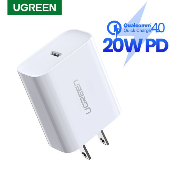 【For iPhone 12】UGREEN 20W Power Delivery Fast Charger for iPhone 12 Pro max SAMSUNG Xiaomi Huawei VIVO OPPO