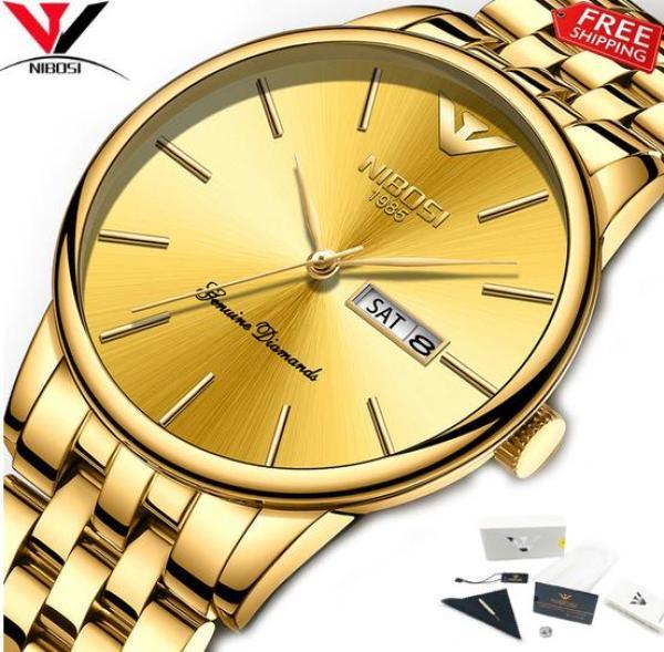 [HCM]Đồng hồ Nibosi 2332 dây thép đặc siêu đẹp fullbox