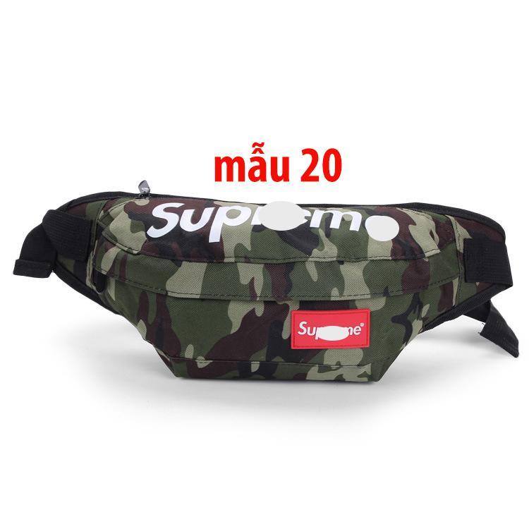 Túi đeo Chéo Nam - Túi Bao Tử - Túi đeo Chéo Superme Khuyến Mại Hot