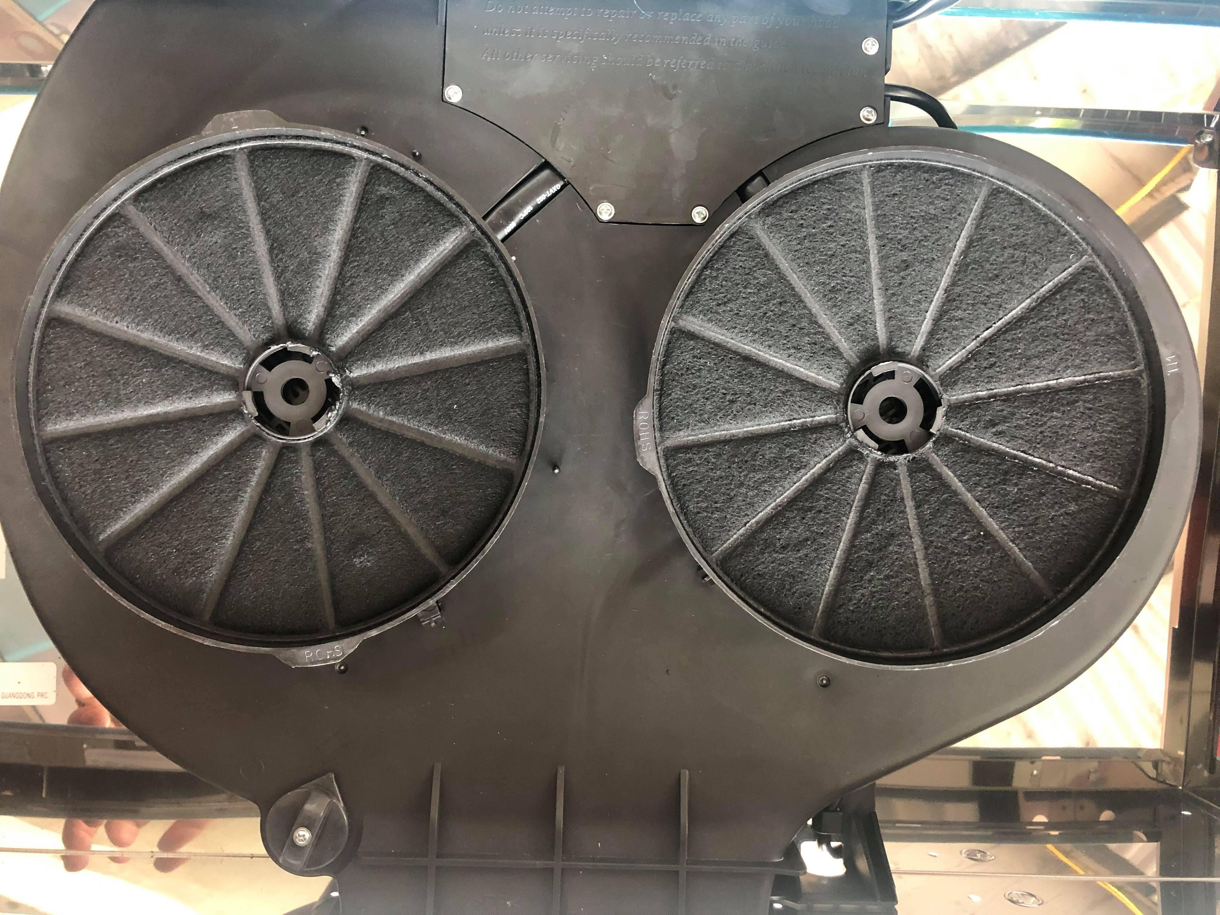 Cặp than hoạt tính máy hút mùi -máy hút khói cho các dòng máy cổ điển - máy hút mùi kính phẳng