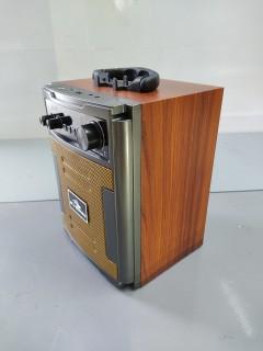 Loa bluetooth thùng gỗ Karaoke di động Kiomic K58, K59 - Tặng kèm 1 không dây - Bảo hành 1 đổi 1 - Giao hàng toàn quốc thumbnail
