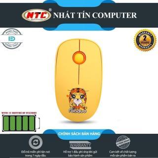 [Nhập ELJUN21 giảm 10%] Chuột không dây Wireless FD L8 pin dùng đến 12 tháng (Vàng) - Hãng phân phối chính thức thumbnail