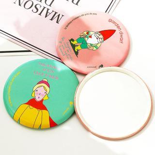 Combo 2 Gương cầm tay mini phong hoạt hình vui nhộn thumbnail