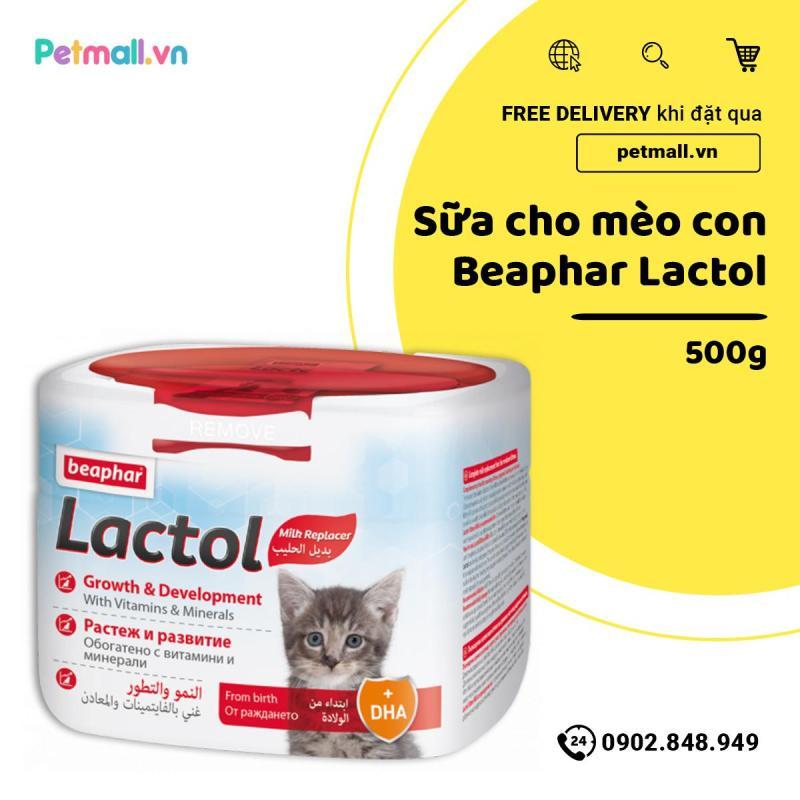 Sữa cho mèo con Beaphar Lactol 500g