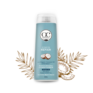Dầu xả gốc thực vật phục hồi tóc hư tổn Coco Organic Care Úc 400ml HSD 10 03 2021 thumbnail