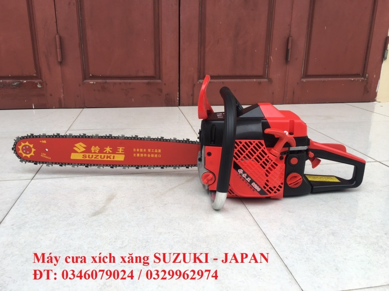 máy cưa cây cưa gỗ chạy xăng SUZUKI 9200/5200
