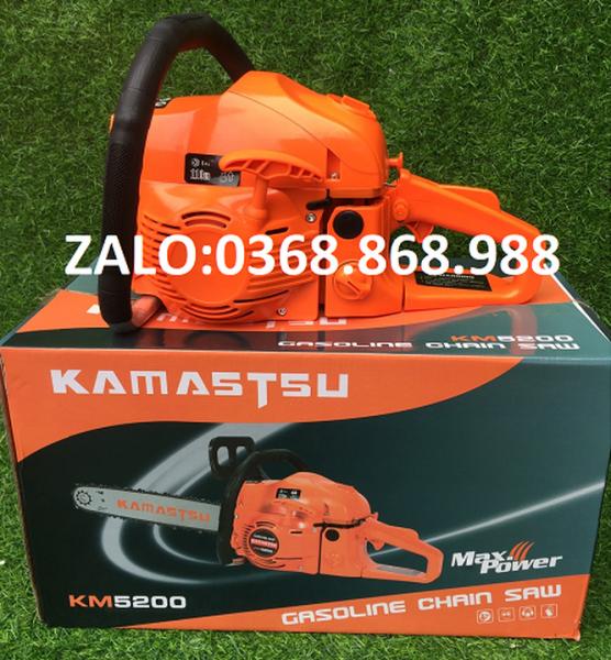 máy cưa xích chạy xăng Kamastsu 6800