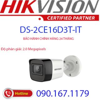 [HCM]Camera hồng ngoại 2.0 Megapixel HIKVISION DS-2CE16D3T-IT thumbnail