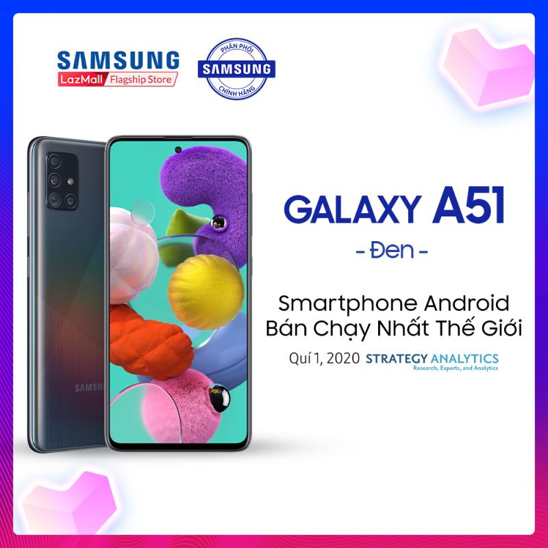 [PHIÊN BẢN MỚI] Samsung Galaxy A51 dung lượng khủng (8GB/256GB) - Màn hình vô cực 6.5 inch Infinity-O chuẩn FHD+ Chụp ảnh đỉnh cao cụm 4 Camera ấn tượng + Pin 4,000mAH - Hàng chính hãng