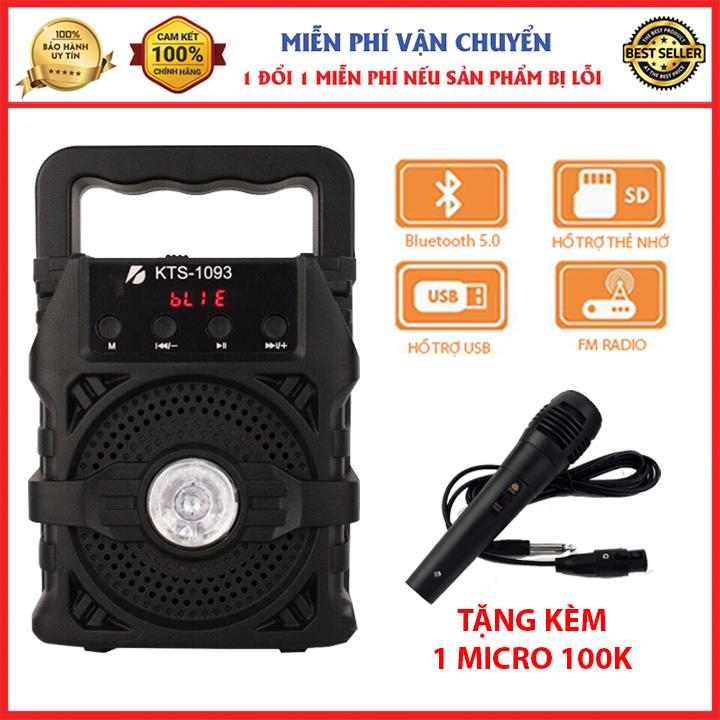 [MIỄN PHÍ VẬN CHUYỂN] (TẶNG MICRO) loa bluetooth hát karaoke kèm mic, loa bluetooth hát karaoke mini, loa kẹo kéo mini giá rẻ Nghe Nhạc Bluetooth, cắm thẻ nhớ, nghe đài FM, loa karaoke bluetooth gia đình