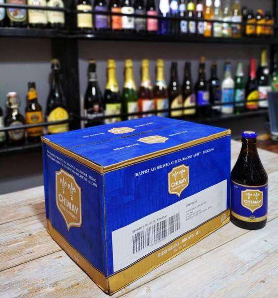 Bia Bỉ Chimay Xanh 9% 12 chai date 2025