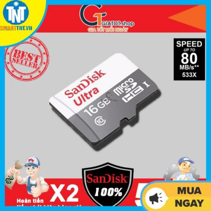 Thẻ nhớ 16G SanDisk Ultra Class 10 - Bảo hành 5 năm