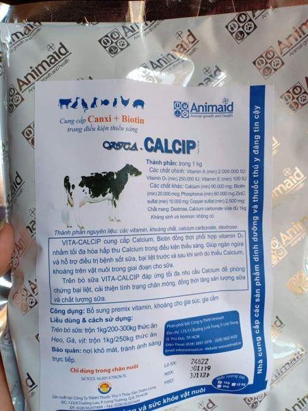 CANXI bột - phòng bại liệt,cắn mổ trên lợn ,trâu bò,dê, gà, vịt...1 kg