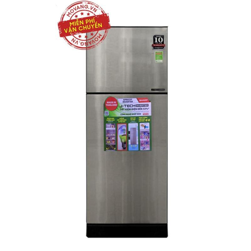 Tủ lạnh Sharp 196 lít SJ-X201E-SL