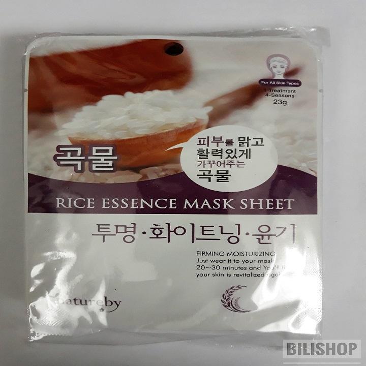 Mặt nạ dưỡng da Natureby Hàn Quốc - Combo 10
