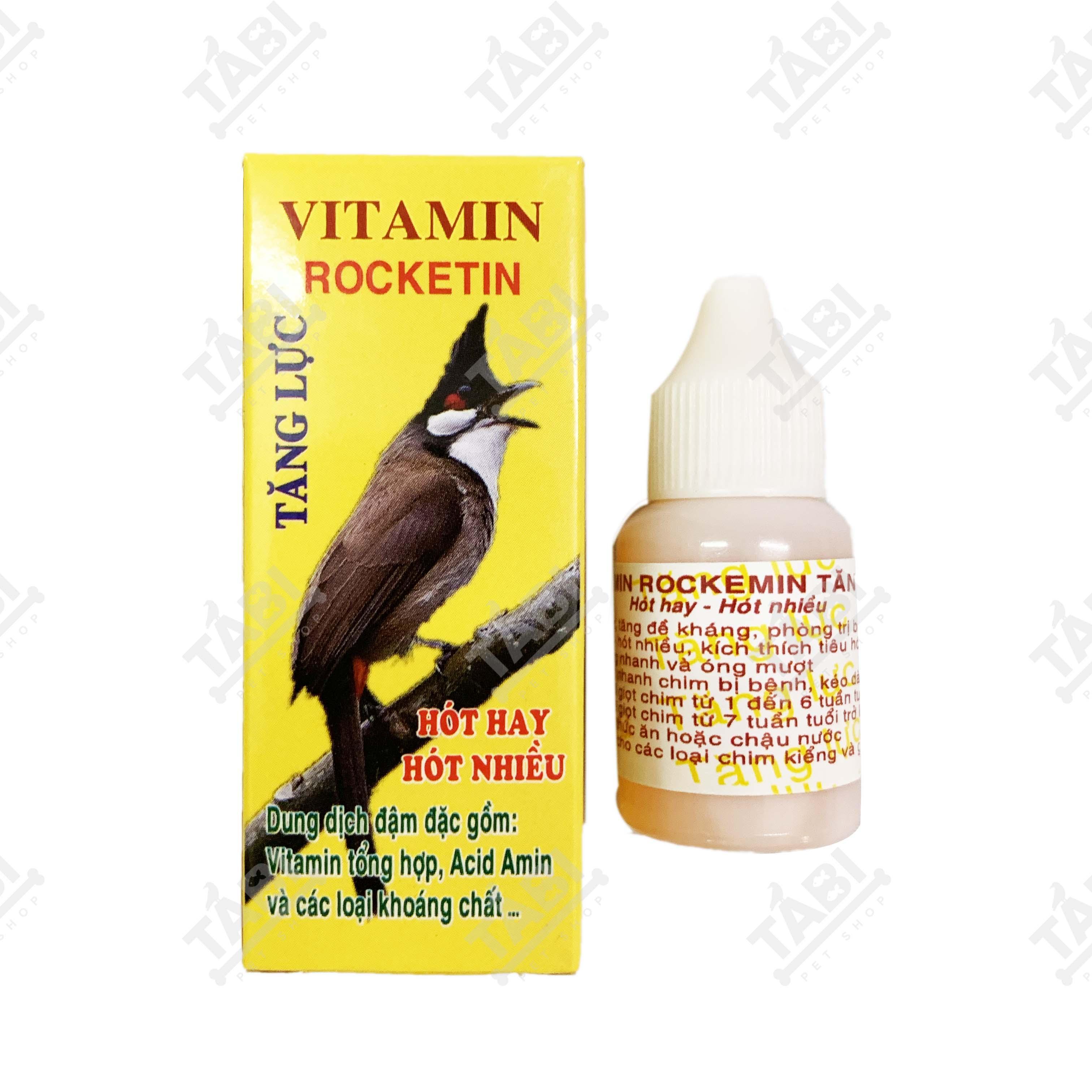 [HCM]Vitamin Rocket Tăng Lực Cho Chim - Giúp Chim Hót Hay