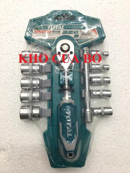 Bộ 12 shocket 1/4 inch Total THT14114126
