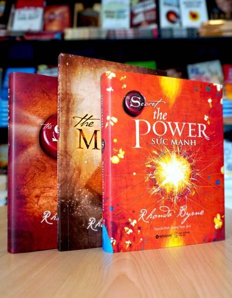Mua Combo bộ sách kinh tế hay Bí mật secret + the magic phép màu + secret the power sức mạnh