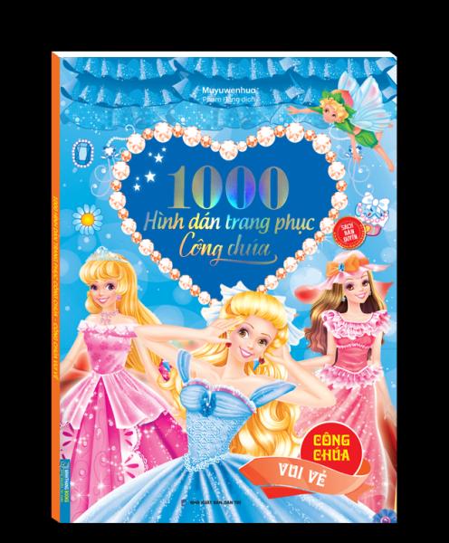 1000 hình dán trang phục công chúa - Công chúa vui vẻ