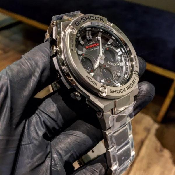 Nơi bán Đồng hồ Nam kim loại bạc SOCK GSTS110D