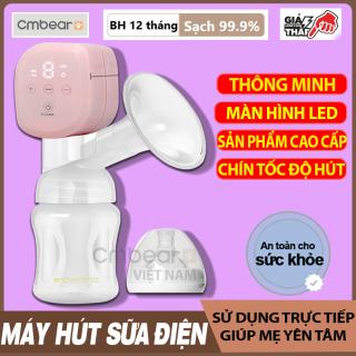 Máy hút sữa điện đơn dùng pin sạc di động cao cấp CMBEAR chất liệu cao cấp an toàn cho mẹ và bé - CMB21 thumbnail