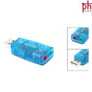 USB Sound 3D Tạo Cổng Âm Thanh Cho Máy Tính thumbnail